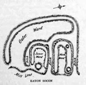 Eaton Socon Castle Plan