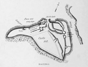 Hastings Castle Plan