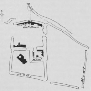 Mettingham Castle Plan