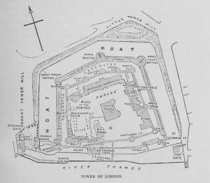 Tower Of London Plan