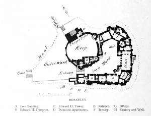 Berkeley Castle Plan