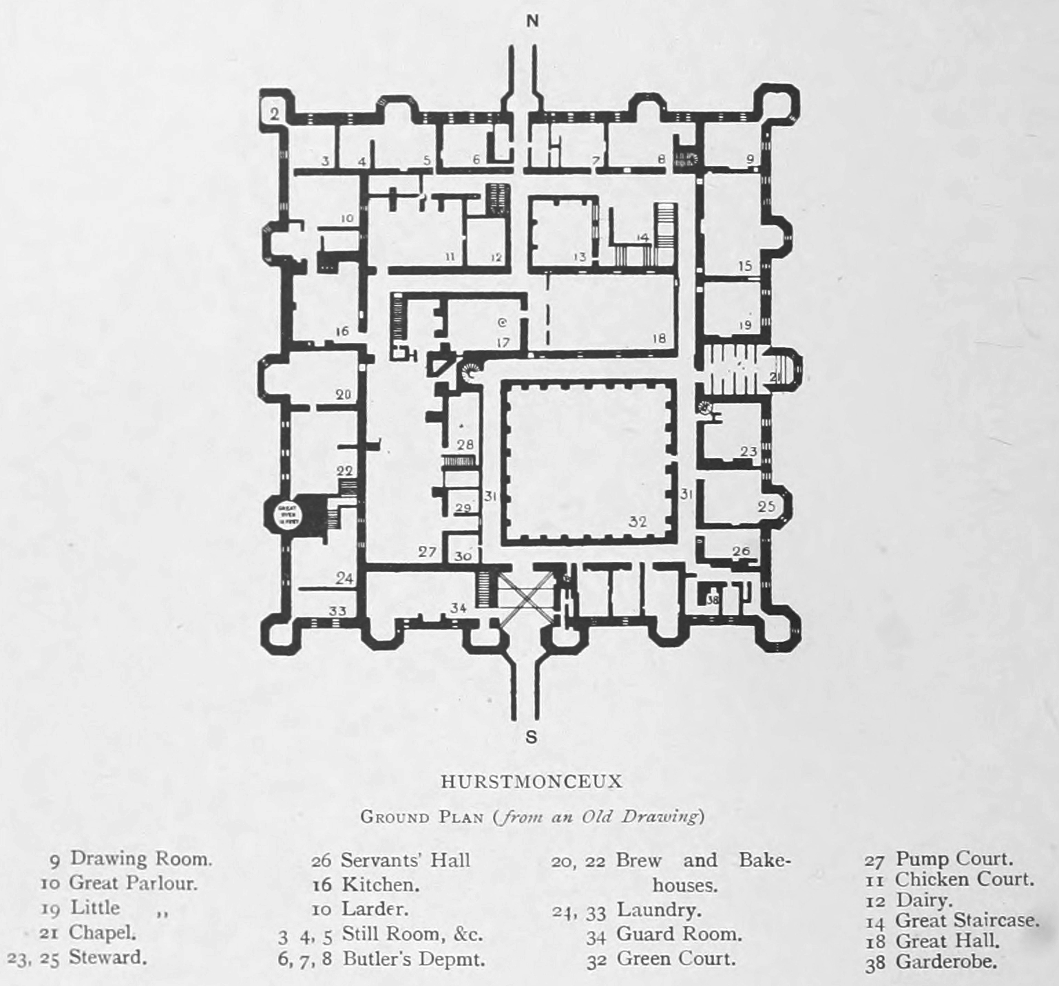 Castles Floor Plans House Design