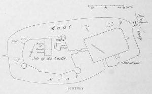 Scotney Castle Plan