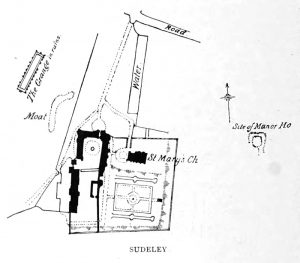 Sudeley Castle Plan